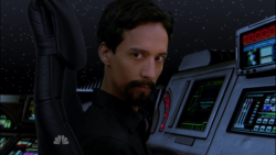 nbcsthursday:  Evil Abed returns!!