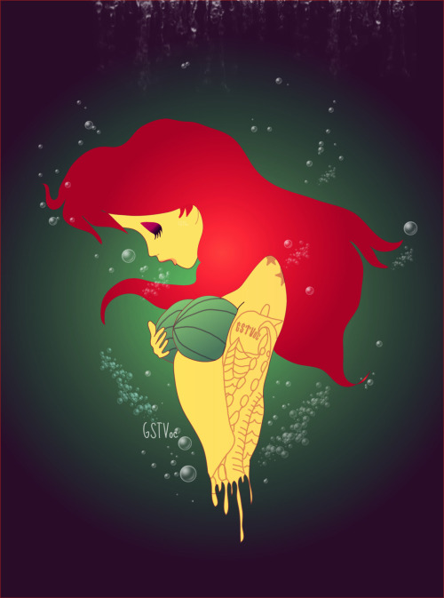 gstvoc:  The Little MermaidLa Sirenita