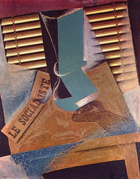 Juan Gris, The Sunblind, 1914.