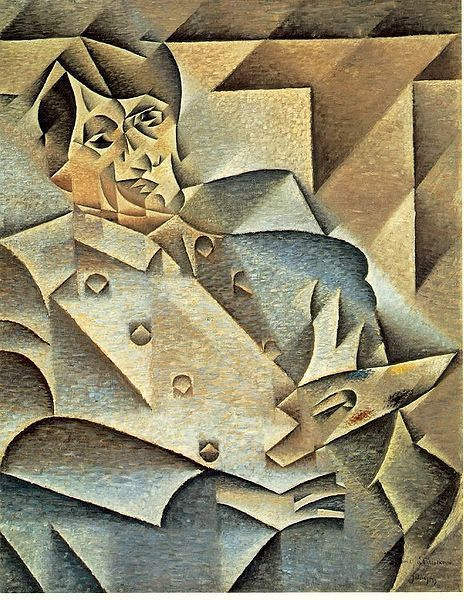 Juan Gris, Portrait of Picasso, 1912.
