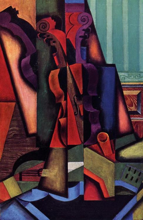 Juan Gris, Violin and Guitar, 1913.