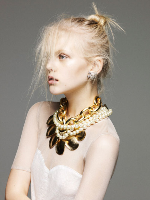 fuckyeahvintagediary:  Anne Sophie Monrad by Nagi Sakai for Please SS 2012