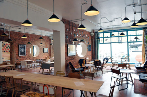 musesofdesign:  (via The Book Club In The Heart of Shoreditch, East London | Yatzer)