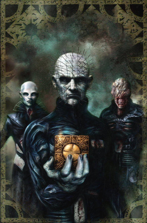 ladygrendel:  Hellraiser cover artwork by *Nick-Percival