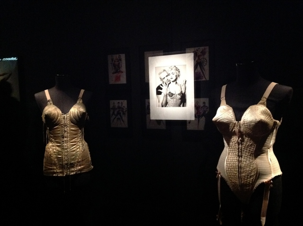 Jean Paul Gaultier exhibit at the De Young. Fascinating. Thoughts up on SF Weekly's Exhibitionist read here… More photos here The Fashion World of Jean Paul Gaultier: From the Sidewalk to the Catwalk March 24–August 19, 2012, De Young Museum, San Francisco
