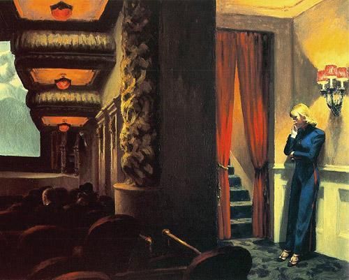 Edward Hopper -New York Movie, 1939.