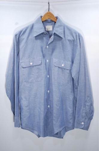 Vintage Big Mac Chambray  Shirt  pick up at ebay