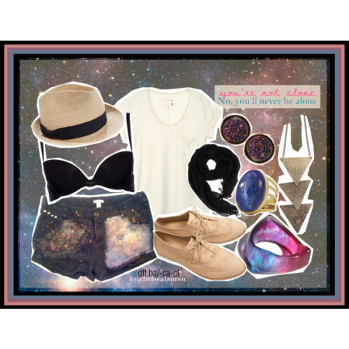 Nebula[][] - Original Set by chelsealauren10 featuring linen scarves