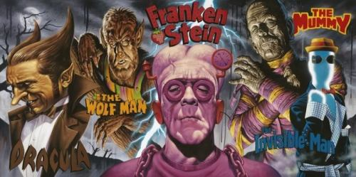 Cereal Monsters by Jason Edmiston