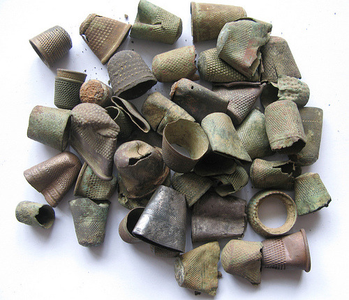 valscrapbook:  artpropelled: Thimbles (by Dave Caplan)