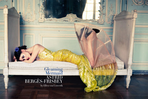 sensualfairytale:  Astrid Berges Frisbey for Vogue Italy March 2012