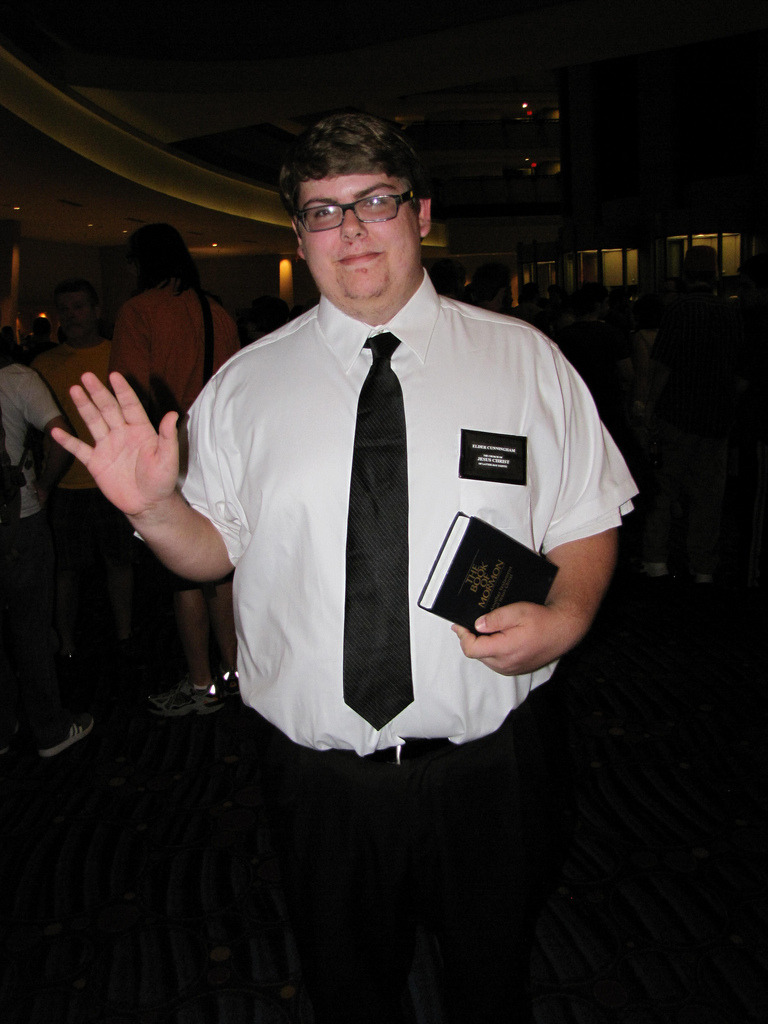 Elder Cunningham from the Book of Mormon. Submitted by geekeryandhockey
