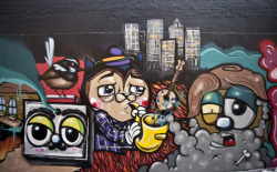 Alley Cat, SENO, LMTD Art-space.