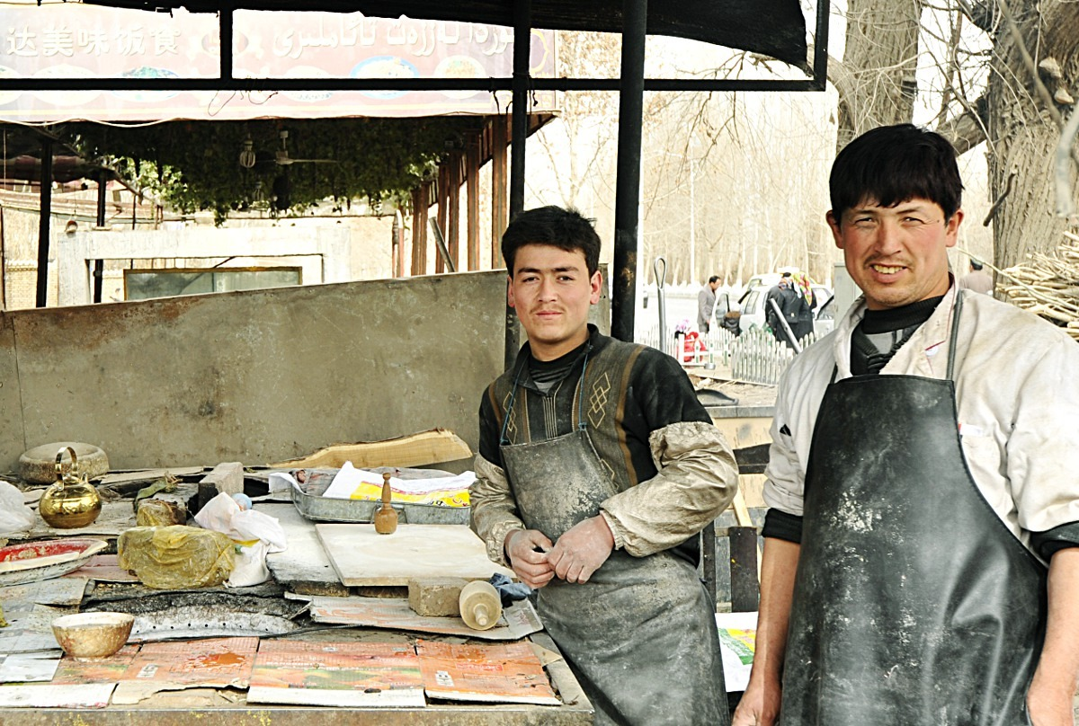 Uyghur Naan Along the Silk Road, 2012