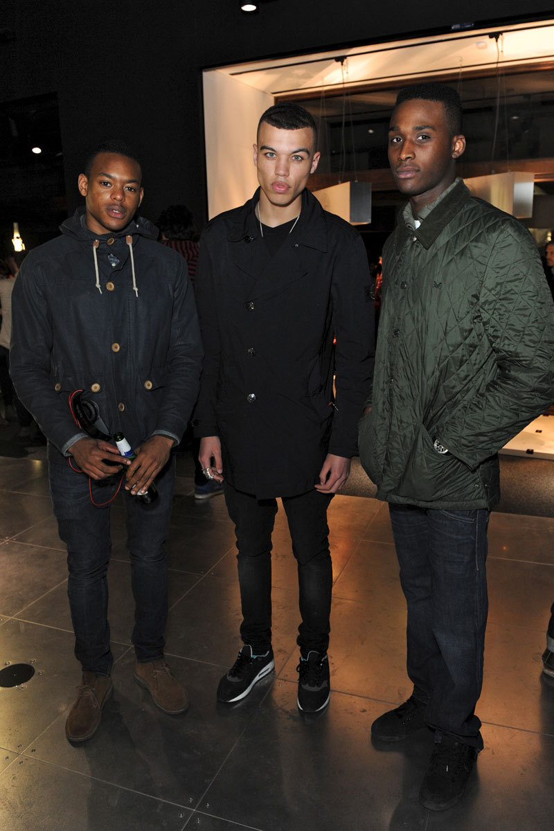 les-nyc:  Dudley O'Shaughnessy and friends @ stone island
