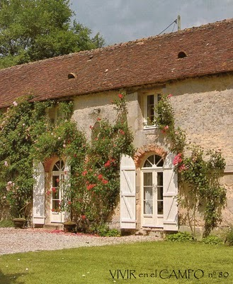 a mill house in the Loire valley