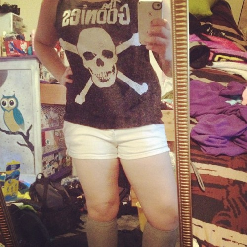 Never say die. #outfit #me #die #goonies #best #movie #amazing #obessed  (Taken with instagram)