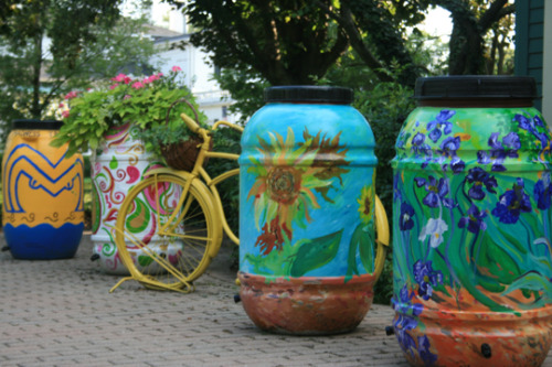 So….how about these rain barrels?!