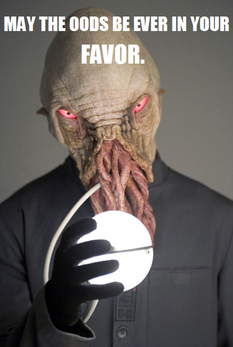 doctorwho:  May the Oods Forever Be In Your Favor.