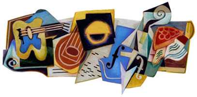 "Google Logo Today [23032012] ""Juan Gris' 125th Borthday"""