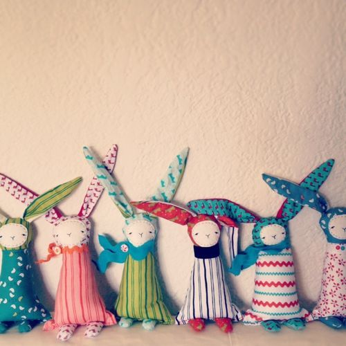 Creative Thursday: bunnies!!!!! in the shop