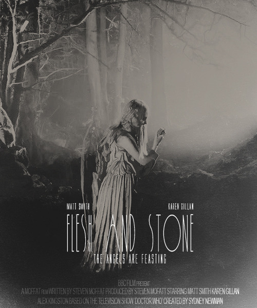 "Awesome fan made ""movie poster"" for Flesh and Stone (Series 5)"