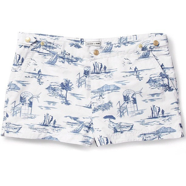 Getting ready for summer with these swimming shorts by Robinson Les Bains
