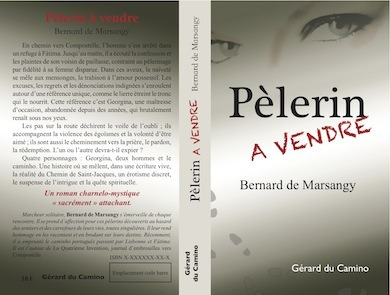 "I have designed the cover of this French Novel, published in March 2012: ""Pèlerin à vendre"". Have a look! http://www.lepolardecompostelle.eu/"
