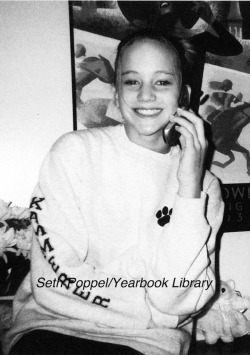 Jennifer Lawrence in high school photo