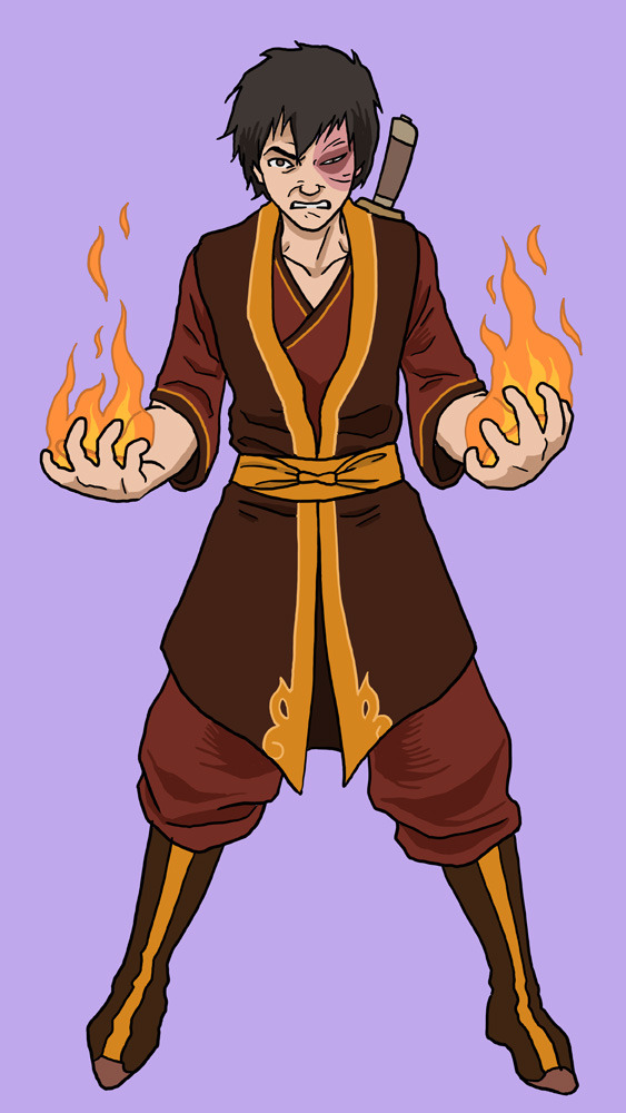 Avatar. The Last Airbender, no. 5: Zuko.