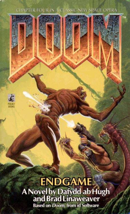 Even Doom received the novellisation treatment.