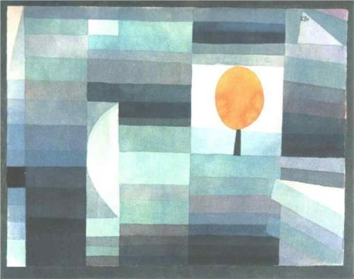Paul Klee, The messenger of autumn, 1922.