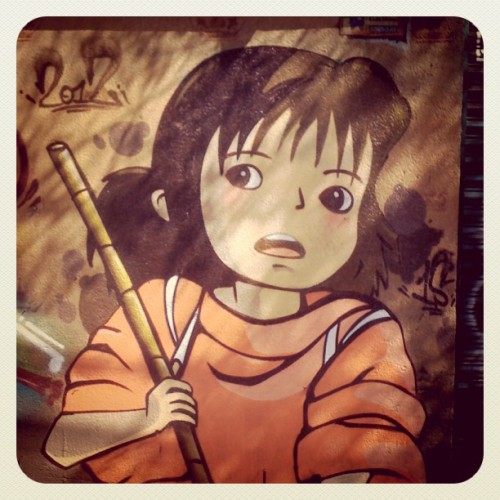 ちひろ! #Graffiti #offthewall  (Taken with Instagram at Santa Fé)