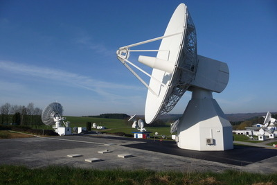 Call for media to hear the first signals from Europe's own GPS constellation Galileo flying at 23,000km altitude. The event will take place on March 29th at ESA's Redu Centre in Belgium near the French and Luxemburg borders, two years before the new GPS system goes fully operational, although the control centers processing the data are over in Munich, Germany, and Fucino, Italy.