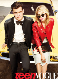 Favorite PPL! Love the clothes and concept!  teenvogue:  Ashley Benson fans! Send in a photo of you with our April 2012 issue for a chance to score a copy of the magazine signed by Ashley herself. Get more details here »