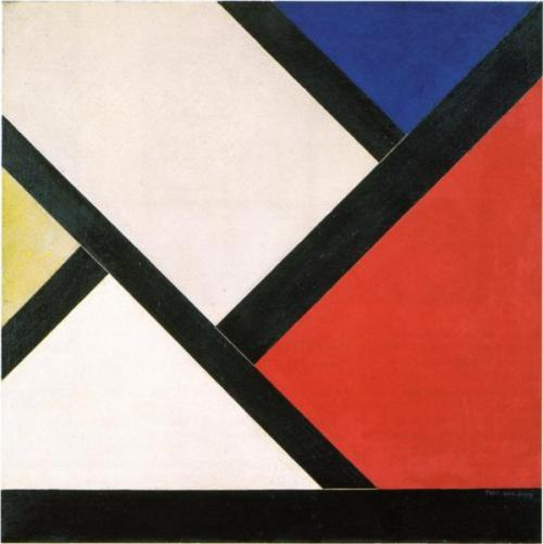 Theo van Doesburg, Counter composition XIV, 1925.