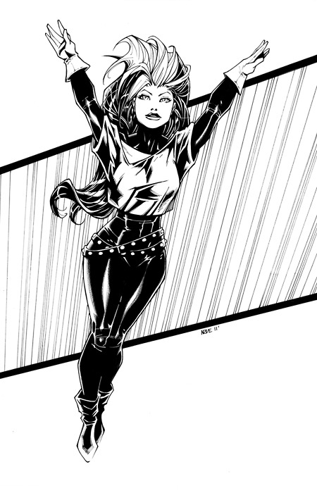 thegeekcritique:  Rogue by Oliver Nome