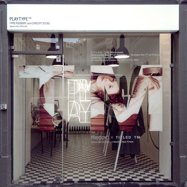 PlayType Foundry and Concept Store