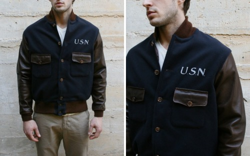 anchordivision:  Mohawk General Store - USN Instructor Jacket // Heritage Research  D.