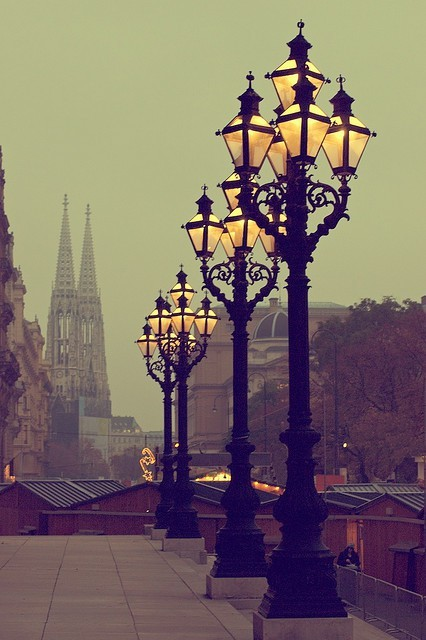 bluepueblo:  Lanterns, Vienna, Austria  photo via solitude