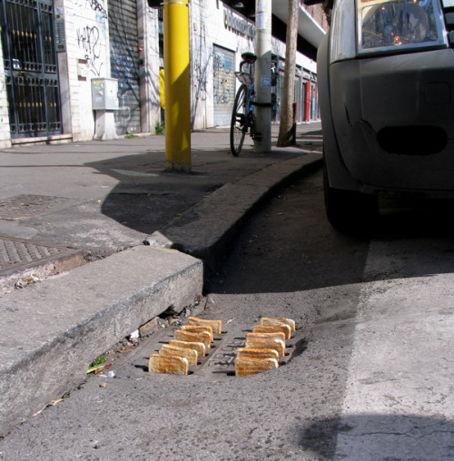 outsidermag:  MARK JENKINS - Toaster Rome (Italy). 2012