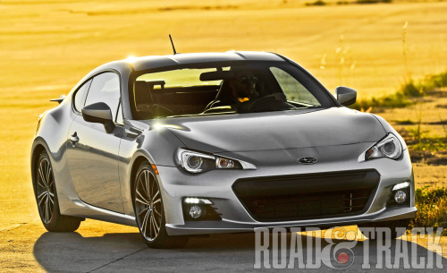 A great concept, beautifully executed: the new 2013 Subaru BRZ. (Source: Road & Track)