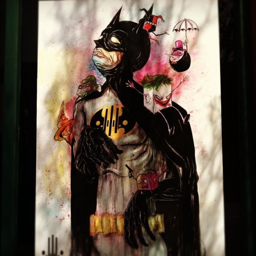Batman and friends.. (Taken with instagram)