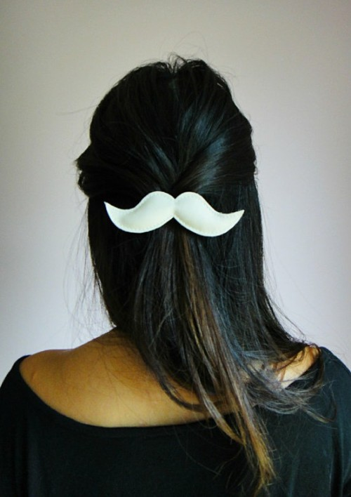 "We ""mustache"" if you adore this hair pin as much as we do!"