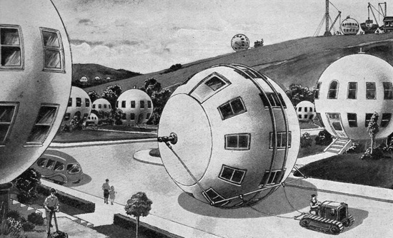 paleofuture:  Tomorrow's Mobile Home