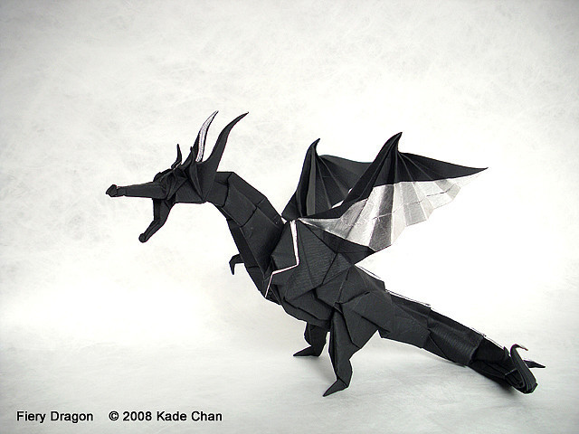 """Fiery Dragon"" by Kade Chan with video instructions."
