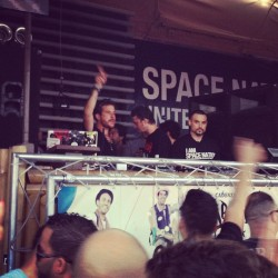 #friday #morning #LUCIANO #cadenza #vgabundos #space #miami #wmc2012  (Taken with instagram)