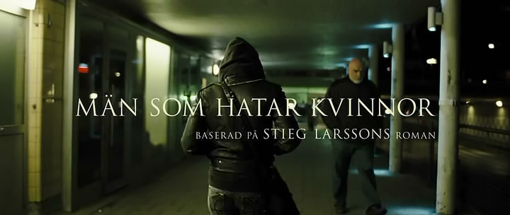 Movie Tittle of Man Som Hatar Kvinnor - The Swedish version of 'The Girl With The Dragon Tatto' - 2009