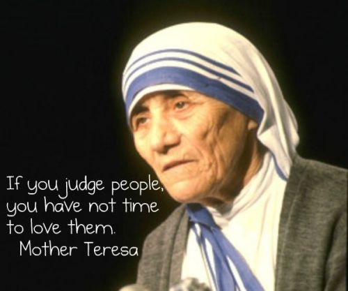 Mother Teresa's words of wisdom - Read More Spiritual Quotes
