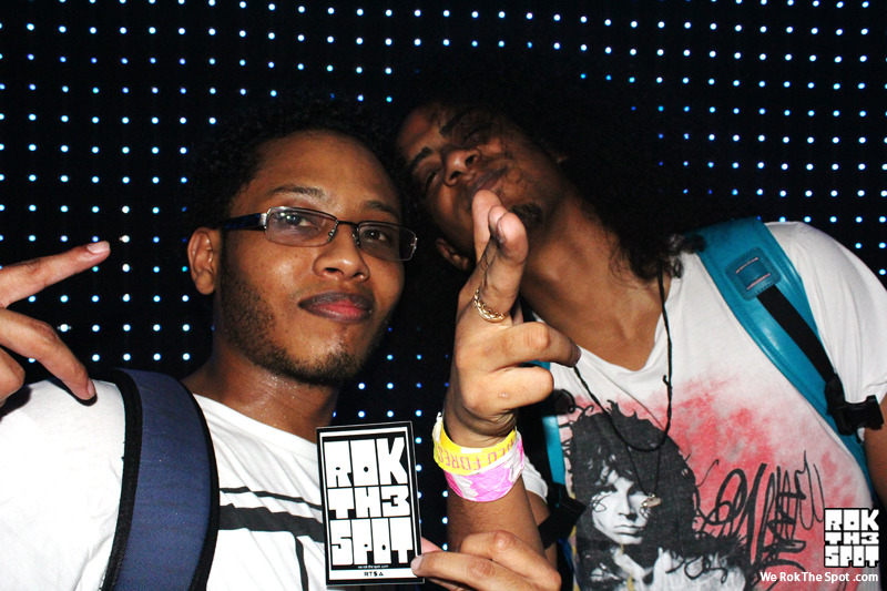 Me being a sweaty mess and @OriginalMunchi chillin wednesday night at Moombahton Massive.  Congo Rock and A-Trak made cameo appearances. One of the dopest parties Ive ever been to. Everyone that went will agree.